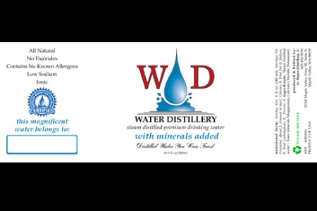 WD Mineral Label